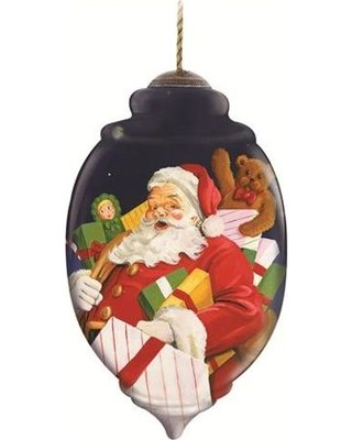Precious Moments Ne'Qwa – Presents For All – Ornaments NeQwa Hand-Painted Christmas 7131152-NQ13