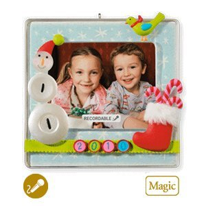 A Year To Remember Recordable Photo Holder 2010 Hallmark Ornament