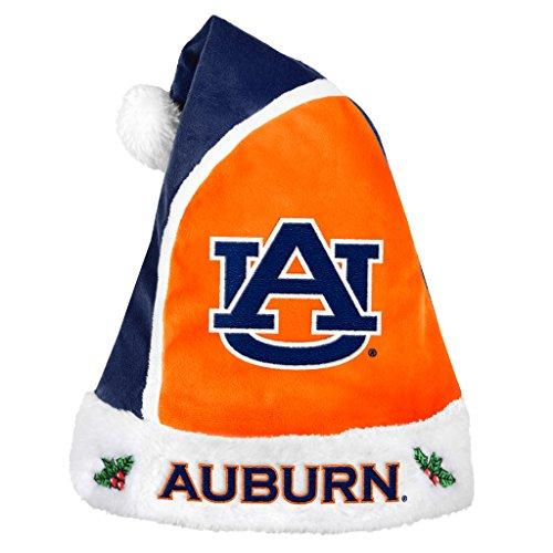 Forever Collectibles – NCAA 2015 Santa Hat, Auburn University Tigers