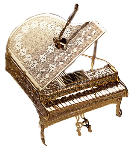 Baldwin Classical Piano Ornament