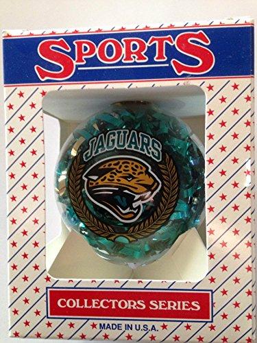 3.25″ Jacksonville Jaguars Confetti Ornament Ball