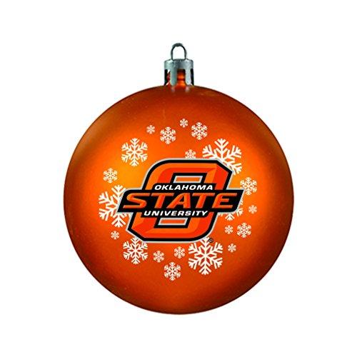 NCAA Oklahoma State Cowboys Shatterproof Ball Ornament, 3.125″, Black