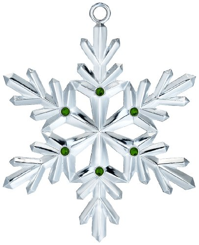 Waterford Silver 2012 Snowflake Ornament