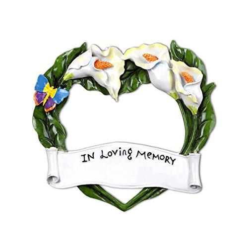 In Loving Memory Frame Christmas Ornament