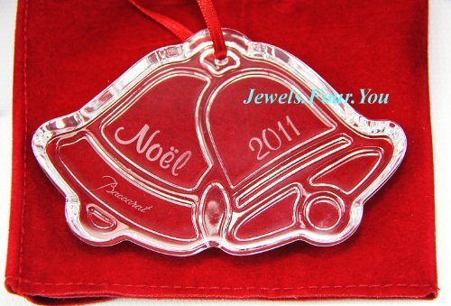 Baccarat 2011 Annual Crystal Noel Ornament – Jingle Bells by Baccarat Crystal