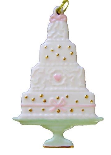 Lenox China Wedding Cake Ornament