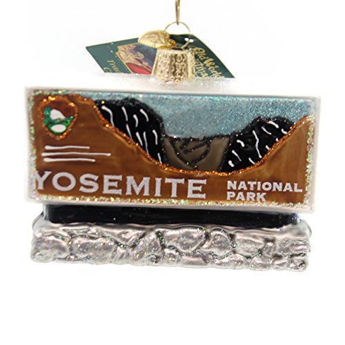 Old World Christmas Yosemite National Park Glass Blown Ornament