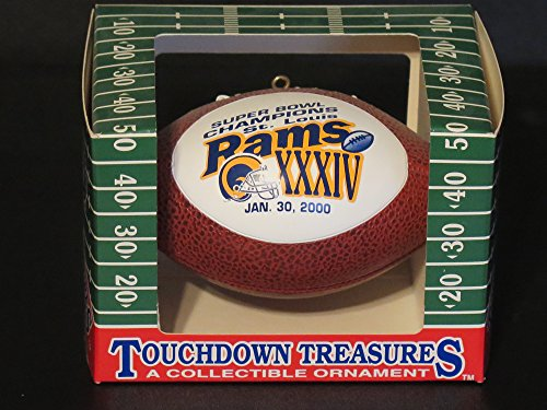 Touchdown Treasures Collectible Ornament Rams XXXIV