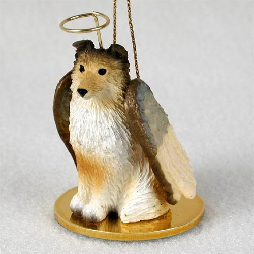 Sheltie Sable Pet Angel Ornament