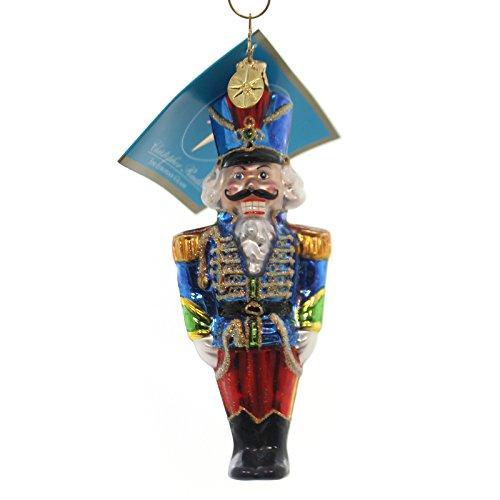 Christopher Radko MAJOR LEE DASHING Glass Ornament Nutcracker Soldier 1012299