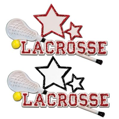 Lacrosse Ornament