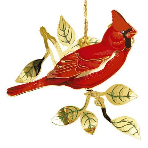 Baldwin Cardinal  Ornament