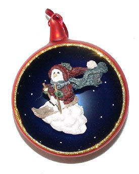 Boyds Bears Jacques Starlight Skier Ornament 25950
