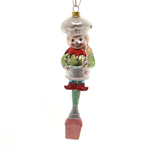 Mark Roberts SANTA ELF KITCHEN Glass Utensils Spoon Brush 3653902 Elf