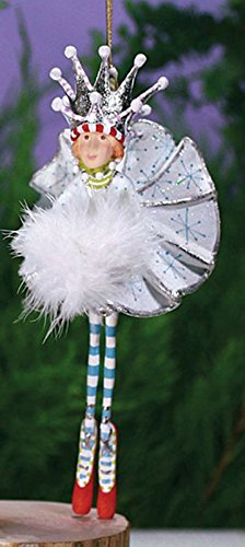 Patience Brewster Krinkles Snow Queen Decorative Christmas Figure Ornament