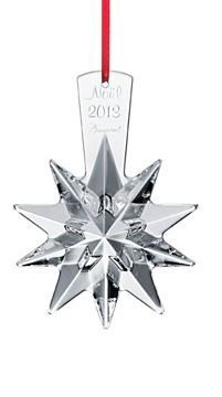 Baccarat #2804657, 2013 Annual Ornament Christmas Star Clear by Baccarat