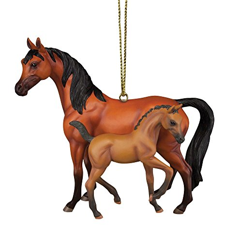 Enesco Trail of Painted Ponies Stand by Me Ornament, 2.5″