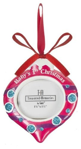 Ganz Baby Girl's First Christmas Ornament