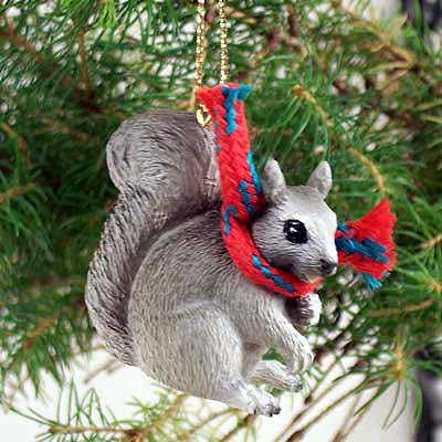 Conversation Concepts Squirrel Gray Original Ornament