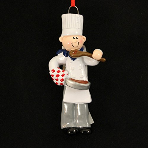 2330 Chef Boy Christmas Ornament for Personalization RM849