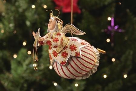 Krinkles Celeste Star Fairy Ornament