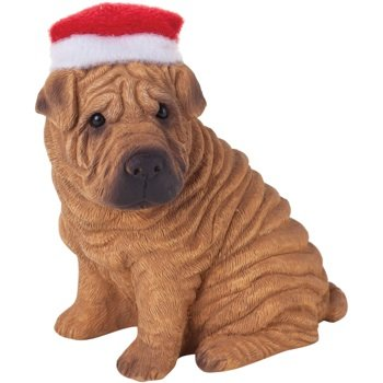 Ornament Chinese Shar-Pei, Red