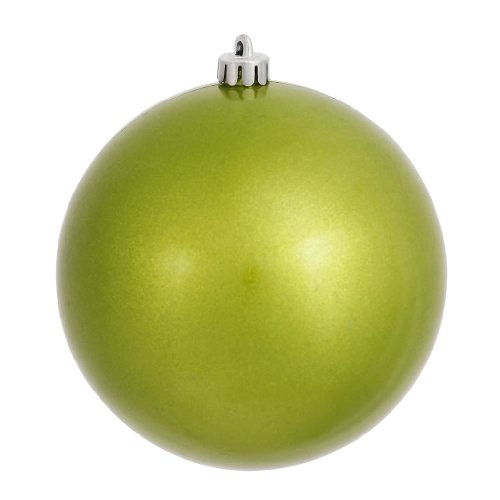 Vickerman 310366 – 4.75″ Lime Pearl Finish Ball Christmas Tree Ornament (N591213P)
