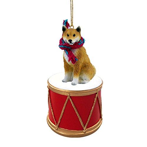 Shiba Inu Drum Ornament