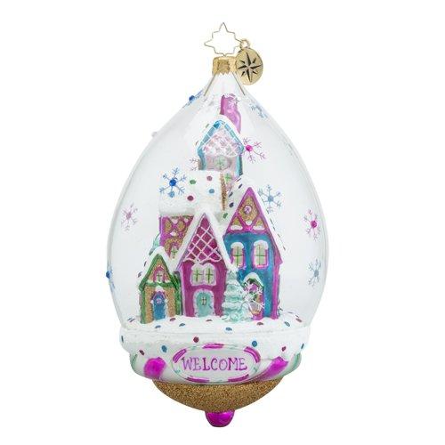 Christopher Radko Bonbon Bubble Candy & Sweets Christmas Ornament