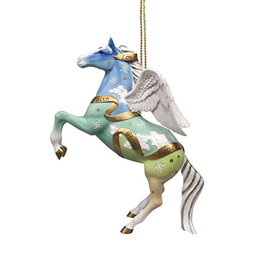 Enesco Trail of Painted Ponies Guardian Angel Ornament, 3.25″