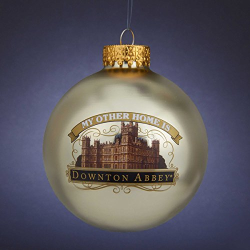 Kurt Adler Downton Abbey® 80mm Castle Ball Ornament