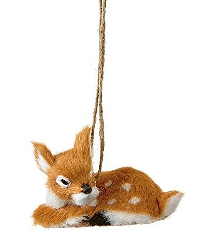Sleeping Fawn Ornament