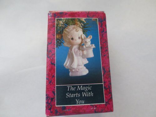 The Magic Starts With You Christmas Tree Ornament … Precious Moments Collection … New Old Stock
