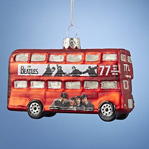 Kurt Adler Beatles a Hard Day's Night Bus Ornament