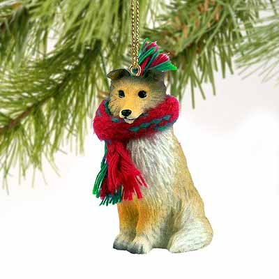 Sheltie Miniature Dog Ornament – Sable