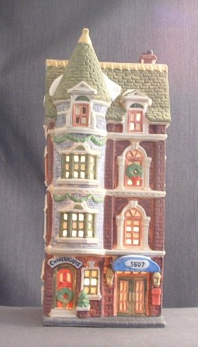Department 56 Heritage Village Collection ; Christmas in the City Series ; 5607 Park Avenue Townhouse #5977-3