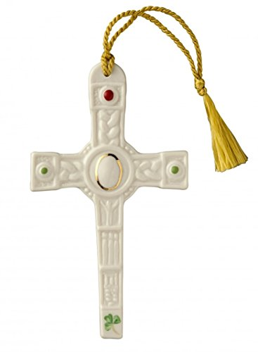Belleek Clogher Cross Ornament