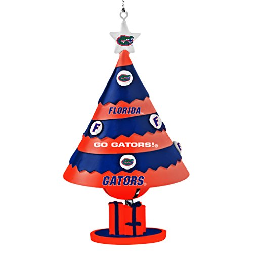 NCAA Florida Gators Tree Bell Ornament, Blue, 5″