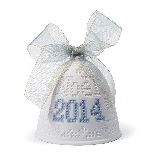 Lladro 2014 Christmas Bell Ornament by Lladro