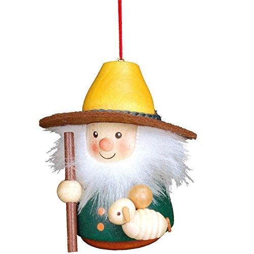 """15-0404 – Christian Ulbricht Ornament – Shepherd – 3″""""H x 2.5″""""W x 2.75″""""D"""
