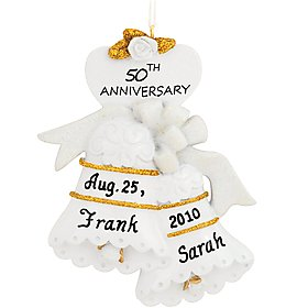 50th Anniversary Bells Ornament