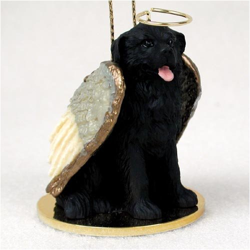 Newfoundland Angel Dog Ornament