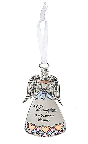 A Daughter is a Beautiful Blessing Angel Charm Ornament – By Ganz