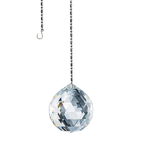 Swarovski Spectra 50mm Lead Free Feng Shui Crystal Ball, Sun Catcher, Very High Quality Crystal with Certificate