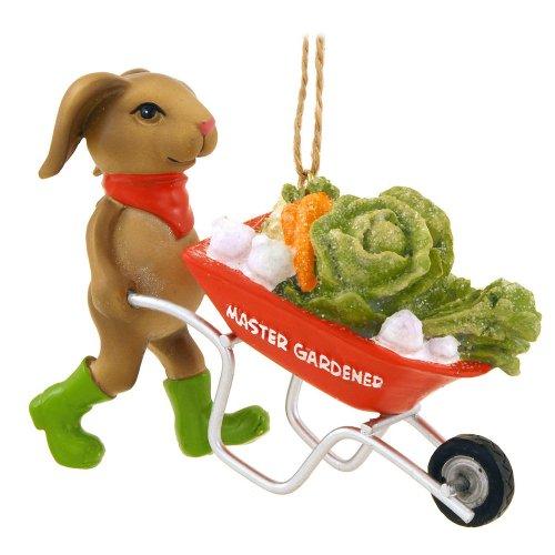 1 X Master Gardener Rabbit Ornament