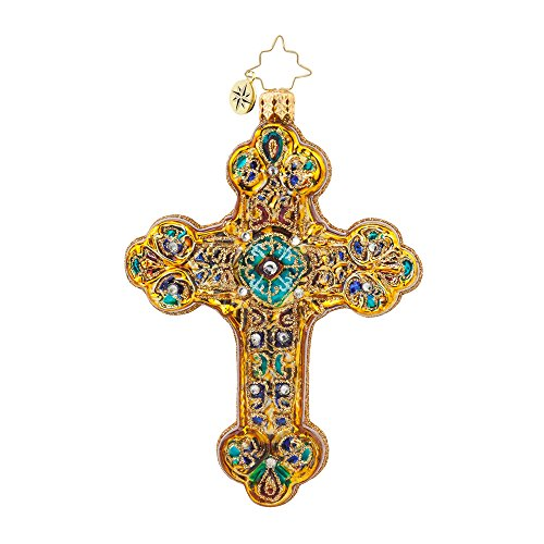 Christopher Radko Byzantine Emblem Christmas Ornament
