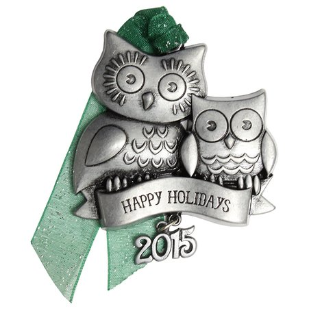 Gloria Duchin Christmas Traditions Holiday Owls 2015 Collectible Christmas Ornament