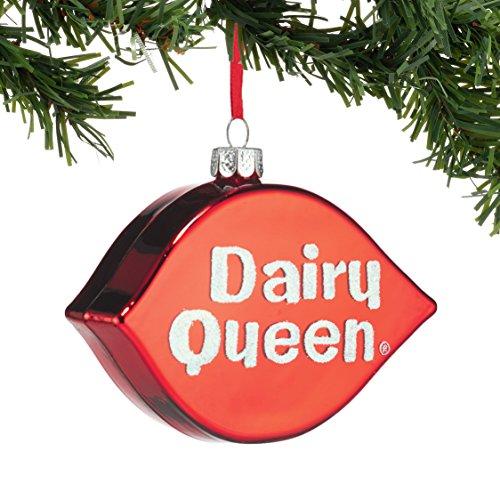Department 56 Dairy Queen Logo Ornament