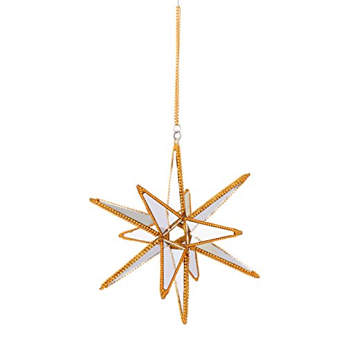 Mirror Spike Ornament (4-Pack)