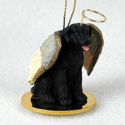 Labrador Retriever, Black Tiny Ones Dog Angels (2 in) by Conversation Concepts